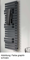 HSK Badheizkörper Yenga Plus 600 x 1214 mm, graphit-schwarz