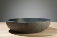 Verona XL Aufsatzwaschbecken, D: 500, H: 120 mm, Material: basalt G684