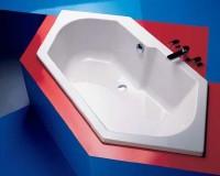 Hoesch Badewanne Arica 6-Eck 1900x900, weiß