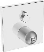 Hansa Funktionseinheit mit Dekorset Wannenbatterie Hansaloft 4050 verchr., 40509073
