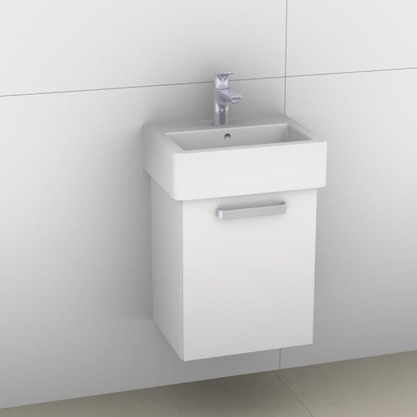Artiqua 411 Waschtischunterschrank für Vero 070445, Weiß Glanz, 411-WUT-D22-R-7050-68