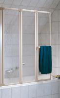 HSK Prima Badewannenaufsatz 3-teilig, 128,8 cm