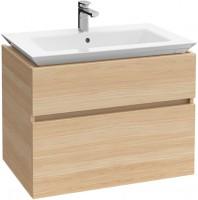 Villeroy & Boch Waschtischunterschrank Legato B290 800x590x500mm Waschtisch mittig Stone Grey, B290L