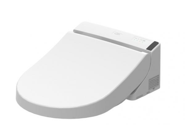 TOTO Washlet GL 2.0 Dusch-WC weiß mit Fernbedienung verdeckte Anschlüsse, TCF6532C3GV1