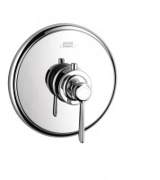 Hansgrohe Thermostat Unterputz Axor Montreux High Flow Fertigset Hebelgriff chrom, 16824000