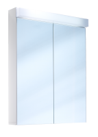 Schneider Spiegelschrank Lowline 60/2/FL, 1x24W 600x770x120 weiss, 151.061.02.02