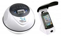 SplashVision SpeakerBall 2, wasserdichter, kabelloser Lautsprecher