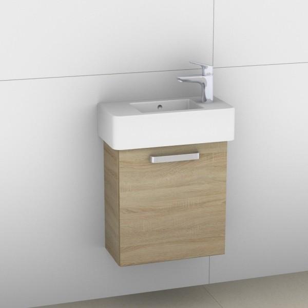 Artiqua 411 Waschtischunterschrank für Vero 070350, Castello Eiche quer NB, 411-WUT-D28-L-7136-426
