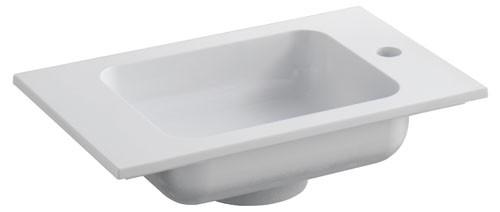 Keuco Waschtisch Edition 300 30560,weiß alpin, B: 525, H: 131, T: 320 mm