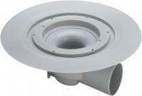 Viega Bodenablauf Advantix 4955.25 in 100mm Kunststoff grau