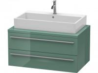 Duravit Waschtischunterschrank f.Konsole X-Large 440x900x548 2 Schubkästen, Jade Hochglanz, XL541800