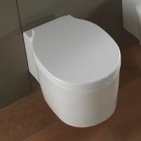 Scarabeo Bucket wandhängendes WC, B: 360, T: 535 mm, weiss, 8812