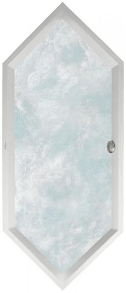 Villeroy & Boch Whirlpoolsystem Squaro (190SQS6) 1892x794mm weiß alpin AC TP1, UAC190SQS6A1V01