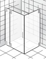 HSK K2.23 Drehtür an Nebenteil und Seitenwand