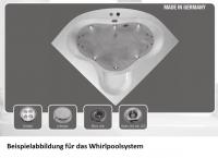 Neuesbad Whirlpoolsystem Jetlight-Lux, Wassersystem mit Farblichttherapie und elektronische Steuerun