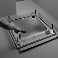 Bette Fußsystem für Duschwanne B50-3022, 80x70, B50-3022