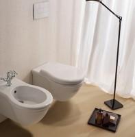 Globo Paestum Wand-WC T:57, B:38, H:35cm, PAS03BI, weiss glänzend