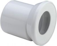 Viega WC Anschlussstutzen 3815.1 in 155mm Kunststoff weiss