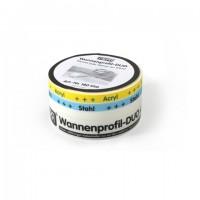 Mepa Wannenprofil-DUO aus PE-Schaumstoff, Länge 3,30 m