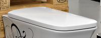 ArtCeram Cow WC-Sitz mit Softclosing, weiss matt