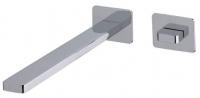 AquaConcept iTap UP-Einhand-Waschtischarmatur Click-Clack Ablaufgarnitur