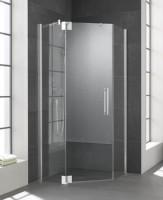 Kermi Fünfeck-Duschkabine Pasa XP, 1000 x 1000 x 2000 mm