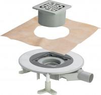 Viega Badablauf Advantix Top 4914.21 in DN50 Kunststoff Rahmen aus Edelstahl