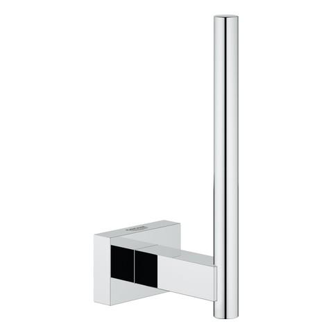 Grohe Reservepapierhalter Essentials Cube 40623 Wandmontage Metall chrom, 40623001