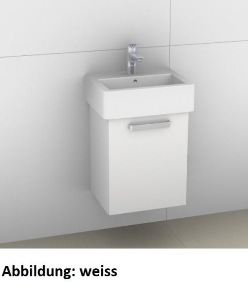 Artiqua 411 Waschtischunterschrank für Vero 070445, Weiß Hochglanz Select, 411-WUT-D22-L-7160-125