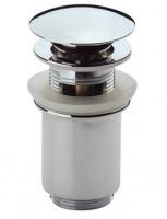 Scarabeo Automatischer Ablauf Click- Clack Keramik, 10011/C, weiss