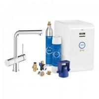 Grohe Blue Minta Starter Kit 31347 für BWT-Filter L-Auslauf chrom