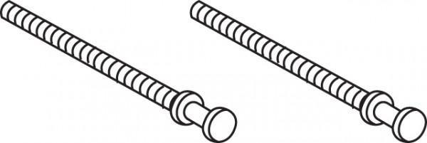 Mepa Drückerstange für Betäti-, gungsplatte 2-Mengentechnik, 590907