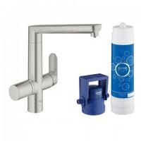 Grohe Blue K7 Pure Starter Kit 31344 für BWT-Filter supersteel