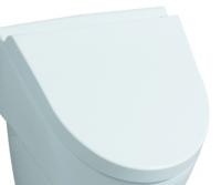 Keramag Urinal-Deckel Flow 575905, mit Absenkautomatik, 575905000, weiss