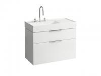 Laufen Waschtischunterbau Kartell by Laufen 890x455x615,2 Schubladen,Weiß glänzend, 4076120336311