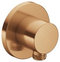 Keuco Schlauchanschluss IXMO 59547, rund, Bronze gebürstet, 59547030001