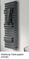 HSK Badheizkörper Yenga Plus 600 x 1214 mm, ebony (schwarz-matt)