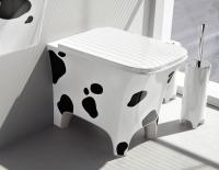 ArtCeram Cow Stand-Tiefspül-WC, B: 380, T: 520 mm, mucatto Dekor