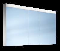 Schneider Spiegelschr. Pataline /150/3/LED, 1x34W LED 1500x760x120 weiss, 161.150.02.02