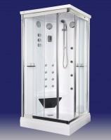 Neuesbad Design Dampfdusche Rechteck 1050 x 850 x 2250 mm, weiss