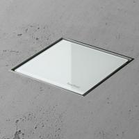 Aqua Jewels Quattro MSI-1 20x20 cm Glas Weiss matt