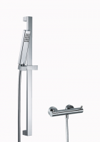 HSK Shower Set 1.01 Eckig, chrom