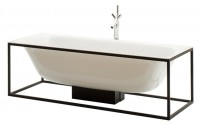Bette Lux Shape Freist. Badewanne 3452, 180x80 cm snow 440, Glasurplus, 3452-440PLUS