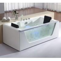 Neuesbad Whirlpool S 180x90 cm, Version silber
