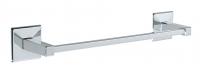 KOH-I-NOOR Tilda 5707 Handtuchhalter 7x36,5x5,5 cm chrom, einfache Montage ohne Bohren