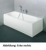 Bette Rechteck-Badewanne Starlet Comfort 1380 weiss mit Glasurplus