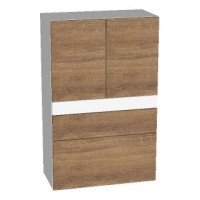 Sanipa Mittelschrank (2morrowLight) LM22515, Ulme Natural-Touch 1105,0x700,0x350,0