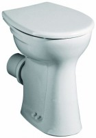 Keramag Stand-Flachspül-WC Vitalis, B: 355, T: 460 mm, 211105000, weiss
