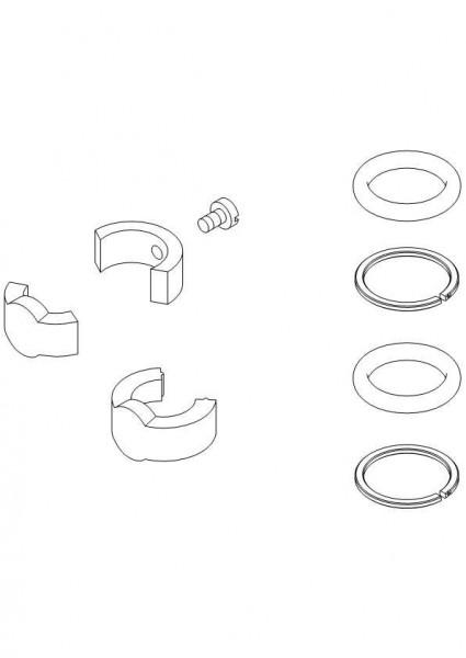 Damixa Reparatur-Set O-Ringe u. Schwenk- Begrenzung, 311800