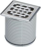 Viega Aufsatz 4934.2 in 100x100mm Kunststoff grau